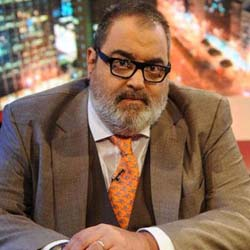 El periodista argentino Jorge Lanata, a quien le decomisaron material en Venezuela (Foto: lavozdelinterior.com.ar)