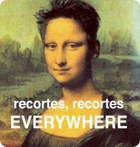 Recortes everywhere